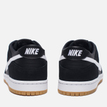 Мужские кроссовки Nike SB Zoom Dunk Low Pro Black/White/Light Brown фото- 3