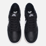 Мужские кроссовки Nike SB Zoom Dunk Low Pro Black/White/Light Brown фото- 4