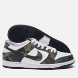Мужские кроссовки Nike SB Zoom Dunk Low Pro Camo Legion Green/White/Black фото- 2
