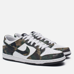 Мужские кроссовки Nike SB Zoom Dunk Low Pro Camo Legion Green/White/Black фото- 1