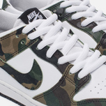 Мужские кроссовки Nike SB Zoom Dunk Low Pro Camo Legion Green/White/Black фото- 5