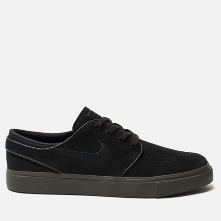 Мужские кроссовки Nike SB Zoom Stefan Janoski Black/Black/Sequoia
