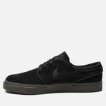 Мужские кроссовки Nike SB Zoom Stefan Janoski Black/Black/Sequoia фото- 1
