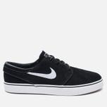 Мужские кроссовки Nike SB Zoom Stefan Janoski Black/Gum Light Brown/White фото- 0