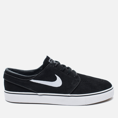 Мужские кроссовки Nike SB Zoom Stefan Janoski Black/Gum Light Brown/White