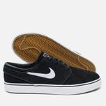 Мужские кроссовки Nike SB Zoom Stefan Janoski Black/Gum Light Brown/White фото- 2