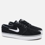 Мужские кроссовки Nike SB Zoom Stefan Janoski Black/Gum Light Brown/White фото- 1