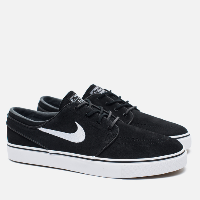 Кроссовки Nike SB Zoom Stefan Janoski Black/Gum Light Brown/White