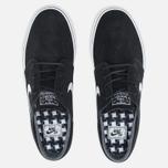 Мужские кроссовки Nike SB Zoom Stefan Janoski Black/Gum Light Brown/White фото- 4