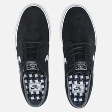 Кроссовки Nike SB Zoom Stefan Janoski Black/Gum Light Brown/White фото- 1