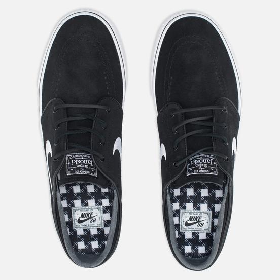 Кроссовки Nike SB Zoom Stefan Janoski Black/Gum Light Brown/White