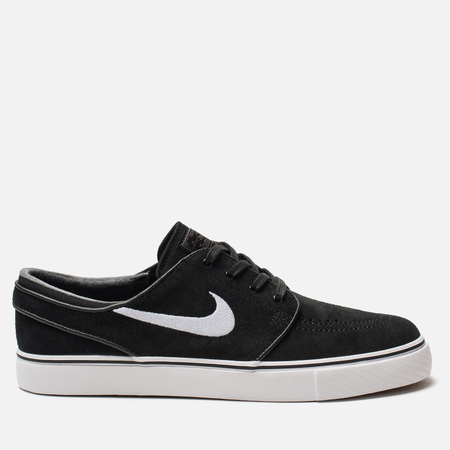 Мужские кроссовки Nike SB Zoom Stefan Janoski Black/White/Thunder Grey/Gum Light Brown