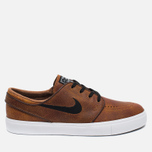 Мужские кроссовки Nike SB Zoom Stefan Janoski Elite Ale Brown/White/Black фото- 0