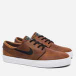 Мужские кроссовки Nike SB Zoom Stefan Janoski Elite Ale Brown/White/Black фото- 1