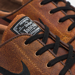 Мужские кроссовки Nike SB Zoom Stefan Janoski Elite Ale Brown/White/Black фото- 5