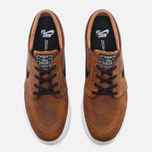 Мужские кроссовки Nike SB Zoom Stefan Janoski Elite Ale Brown/White/Black фото- 4