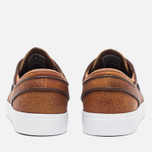 Мужские кроссовки Nike SB Zoom Stefan Janoski Elite Ale Brown/White/Black фото- 3
