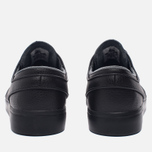 Мужские кроссовки Nike SB Zoom Stefan Janoski Leather Black/Black/Anthracite/Black фото- 5