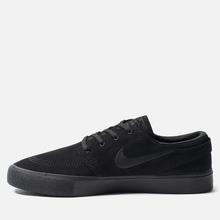 Мужские кроссовки Nike SB Zoom Stefan Janoski Rm Black/Black/Black/Black фото- 5