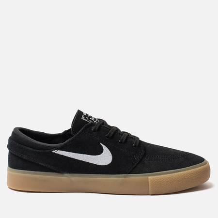 2d5d3431 Мужские кроссовки Nike SB Zoom Stefan Janoski RM Black/White/Black/Gum Light