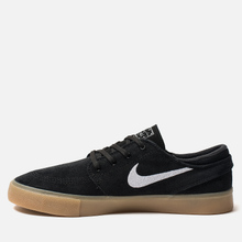 Мужские кроссовки Nike SB Zoom Stefan Janoski Rm Black/White/Black/Gum Light Brown фото- 5