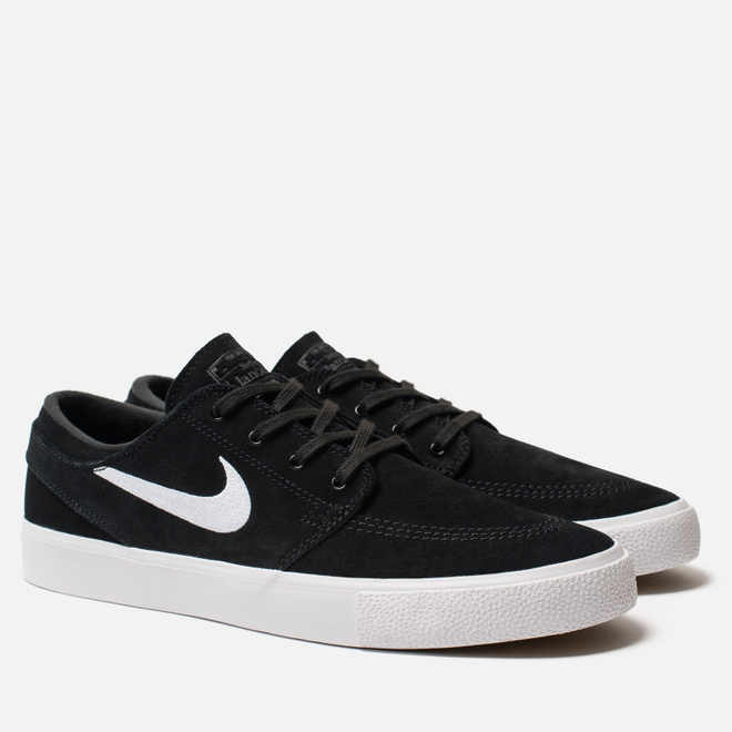 Мужские кроссовки Nike SB Zoom Stefan Janoski Rm Black/White/Thunder Grey/Gum Light Brown