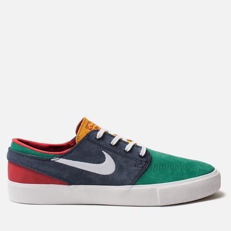 Мужские кроссовки Nike SB Zoom Stefan Janoski RM Lucid Green/White/Obsidian