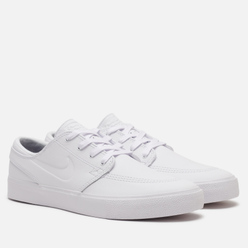 Мужские кроссовки Nike SB Zoom Stefan Janoski Rm PRM White/White/White