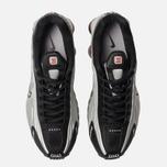 Мужские кроссовки Nike Shox R4 Black/Metallic Silver/Max Orange фото- 4