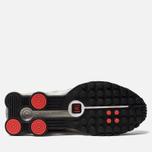 Мужские кроссовки Nike Shox R4 Black/Metallic Silver/Max Orange фото- 5