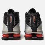 Мужские кроссовки Nike Shox R4 Black/Metallic Silver/Max Orange фото- 6