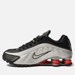 Мужские кроссовки Nike Shox R4 Black/Metallic Silver/Max Orange фото- 2
