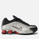 Мужские кроссовки Nike Shox R4 Black/Metallic Silver/Max Orange фото- 0
