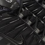 Мужские кроссовки Nike Shox TL Black/Black/Black фото- 6