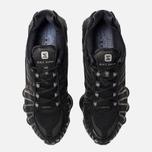 Мужские кроссовки Nike Shox TL Black/Black/Black фото- 3