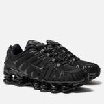 Мужские кроссовки Nike Shox TL Black/Black/Black фото- 1