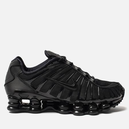 Мужские кроссовки Nike Shox TL Black/Black/Black