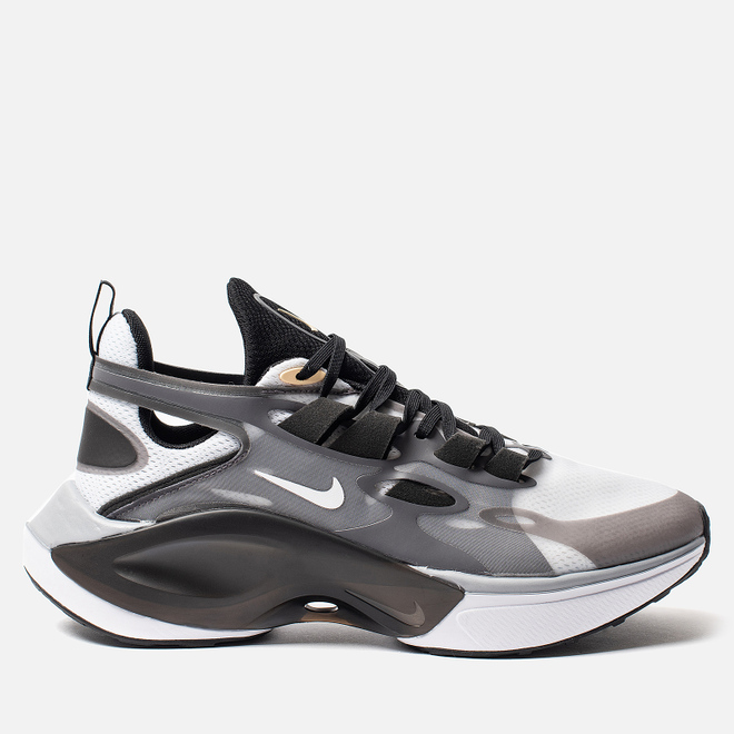 Мужские кроссовки Nike Signal D/MS/X Black/White/Football Grey/Pale Vanilla