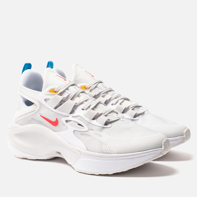Мужские кроссовки Nike Signal D/MS/X White/Red Orbit/Summit White/Blue Hero