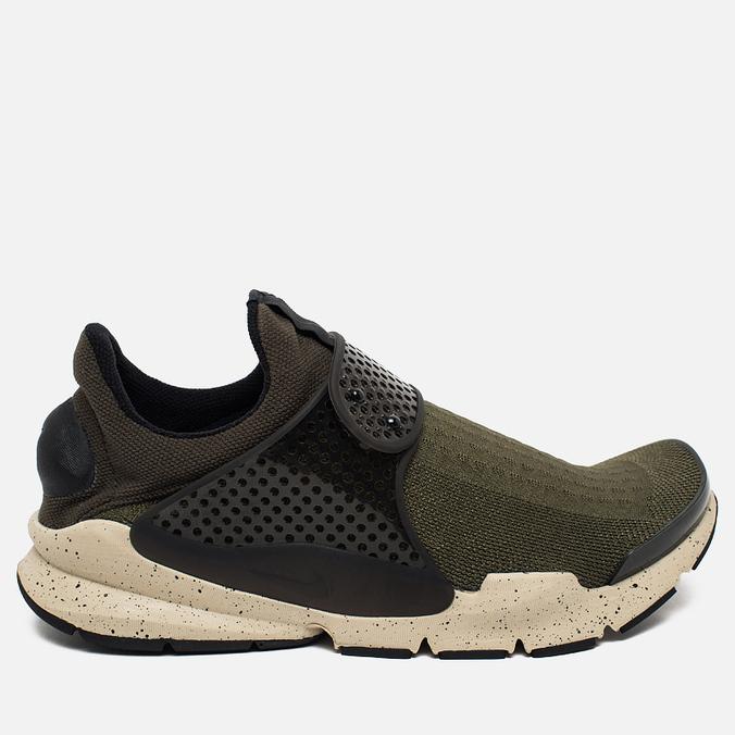 Мужские кроссовки Nike Sock Dart Cargo Khaki/Black/Rattan