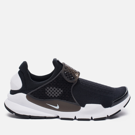 Мужские кроссовки Nike Sock Dart Knit Jaquard Black/White