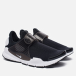 Мужские кроссовки Nike Sock Dart Knit Jaquard Black/White фото- 2