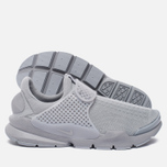 Мужские кроссовки Nike Sock Dart Knit Jaquard Grey/White фото- 2
