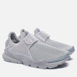Мужские кроссовки Nike Sock Dart Knit Jaquard Grey/White фото- 1