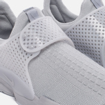 Мужские кроссовки Nike Sock Dart Knit Jaquard Grey/White фото- 5