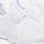 Мужские кроссовки Nike Sock Dart Knit Jaquard White/White/Black/White фото- 5