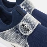Мужские кроссовки Nike Sock Dart Midnight Navy/Medium Grey фото- 3