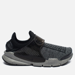 Кроссовки Nike Sock Dart SE Premium Black/White/University Red/Dust фото- 0