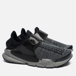 Кроссовки Nike Sock Dart SE Premium Black/White/University Red/Dust фото- 2