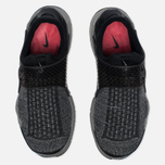 Кроссовки Nike Sock Dart SE Premium Black/White/University Red/Dust фото- 4